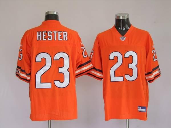 detailing 0cf5b 15f41 Bears #23 Devin Hester Orange Stitched NFL Jersey